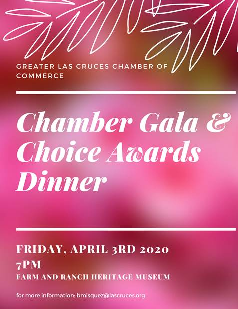2020 Annual Chamber Gala & Choice Awards Dinner